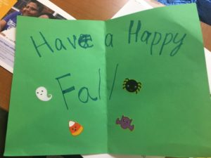 Thanksgiving Card Project