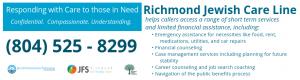 Richmond Jewish Care Line: Help is One Phone Call Away